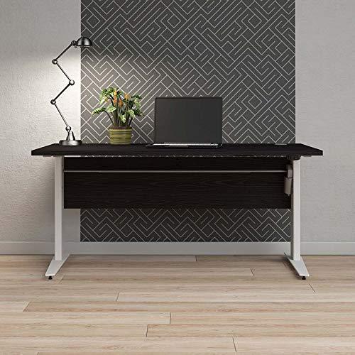 Tvilum Prima Schreibtisch Motortisch, höhenverstellbar Stehtisch Schwarz ergonomisch