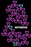 Lovely Heart Notebook: College Ruled Lovely Heart Notebook, 6 x 9 inches 120 Pages, Sakura Cover (College Ruled noBleed To Write In) Paperback Sakura ... for Girls Women Teens Kids School Writing
