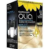 Garnier Olia - Coloración Permanente sin Amoniaco, con Aceites Florales de Origen Natural - Tono 110 Rubio Super Aclarante Natural