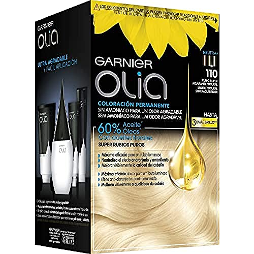 Garnier Olia - Coloración Permanente sin Amoniaco, con Aceites Florales de...