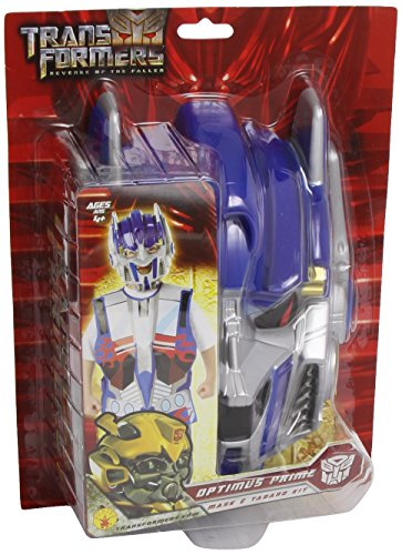 Rubie's-déguisement officiel - Transformers - Costume Kit de Déguisement Transformers Optimus Prime Tunique Imprimée + Masque- I-5327