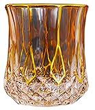 Bicchiereda liquore Unico Whisky Glass, Vetro per Vecchio Stile, 210 ml, 8,8 Once, 4