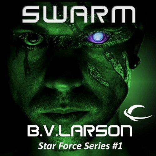 Swarm audiobook cover art