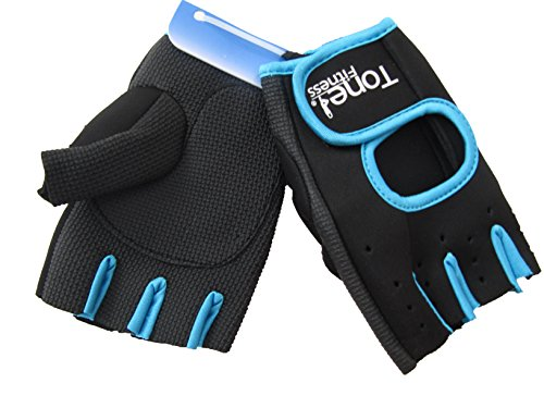 Tone Fitness HHWG-TNTEALL Tone Weightlifting Gloves-Large