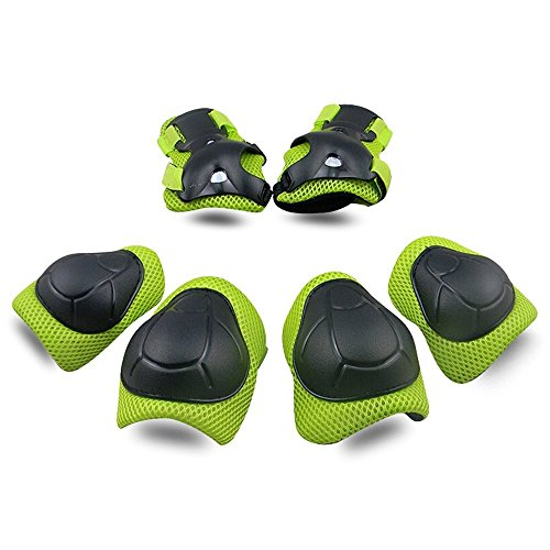 Fantastic Prices! Kids Protective Gear SKL Knee Pads for Kids Knee and Elbow Pads with Wrist Guards ...