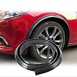 Conjunto de guardabarros Faldones guardabarros de fibra de carbono de automóviles Fender bengalas rueda de coche del arco de las cejas Protect Anti-cero rueda de coche del cojín guardabarros accesorio