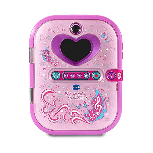VTech 80-163604 Kidi Secrets Selfie Music Electronic Diary, Multi-Colour