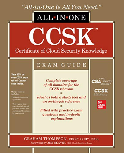 CCSK Certificate of Cloud Security Knowledge All-in-One Exam Guide (English Edition)