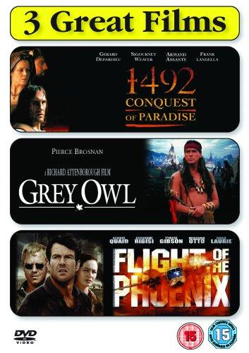 Drama Collection - 1492 - Conquest Of Paradise/Grey Owl/Flight Of The Phoenix [Edizione: Regno Unito] [Edizione: Regno Unito]
