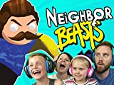 Hello Neighbor In Gang Beasts! Family Battle Part 3