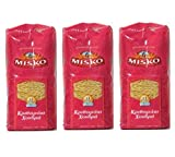 3x 500 g Set Reisnudeln dick aus Griechenland Hartweizennudeln Hartweizen griechische Reis Nudeln...