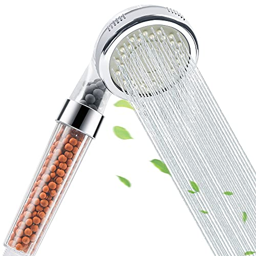 High Pressure Handheld Filter Shower Head 3 Mode Function Spray, Water Saving, Easy To Install, Best Shower Experience, Ecowater Spa Shower Head For Dry Hair & Skin
