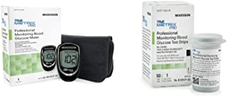 McKesson True Metrix Pro Professional Monitoring Meter + 50 Mckesson True Metrix Pro Blood Glucose Test Strips (Bundle)