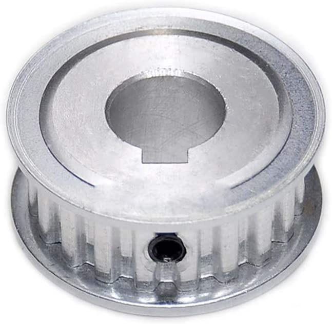 bore: 8//3x1.5mm XL-16T Timing Belt Pulley 8mm Bore 1//5 Pitch 11mm Tooth Width With Keyway Aluminium Alloy Synchronous Wheel