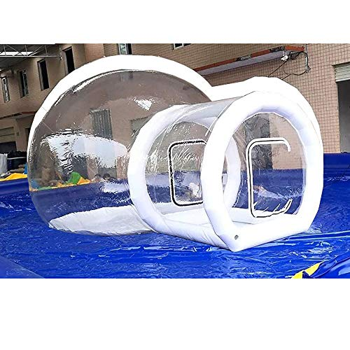 CNRGHS Outdoor transparante opblaasbare bubble camping tent, winddicht doorschijnend PVC mesh tent, outdoor camping, vakantie, hotel, bed and breakfast