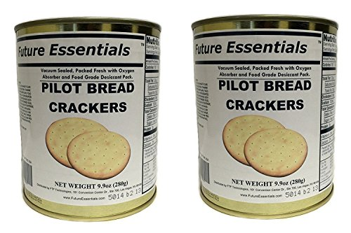 1 Can of Future Essentials Sailor Pilot Bread (Half-Case (6-Pack))