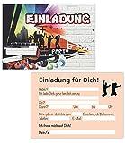 15er Kartenset Einladungskarten Geburtstag,...