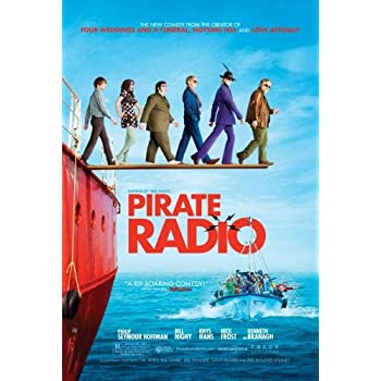 Pirate Radio Movie Poster 24in x36in