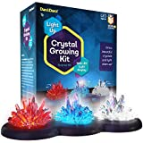 Light-up Crystal Growing Kit for Kids - Grow Your Own Crystals and Make Them...