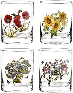 12 oz. Botanic Garden Double Old Fashioned Glasses (Set of 4) By Portmeirion