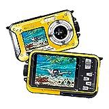 Waterproof Camera Underwater Camera Full HD 1080P 24.0 MP Video...