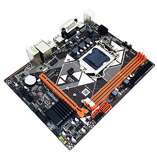 Placa mãe B85-M2 LGA 1150 MATX suporta placa gráfica integrada VGA HDMI DVI