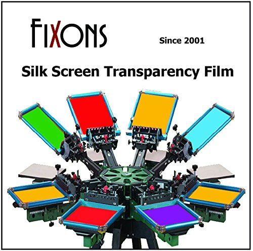 Waterproof Inkjet Transparency Film 8.5 x 11 (100 Sheets)