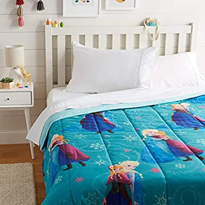 AmazonBasics by Disney Frozen Swirl Comforter, Full