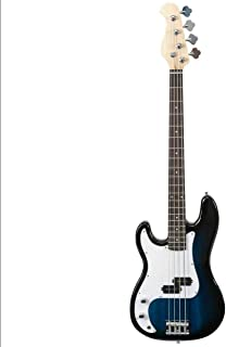 $172 » Full Size 4 String Electric Bass Guitar Blue