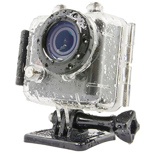 Kaiser Baas X100 - Waterproof Sports Action Camera With Casing & WiFi Enabled Wrist Remote Control