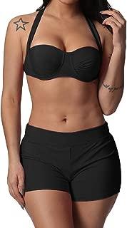 2019 New Swimwear, Yutao Women Solid Bandage Two Pieces Bikini Set Swimsuits Swimwear Beach Bathing Suit