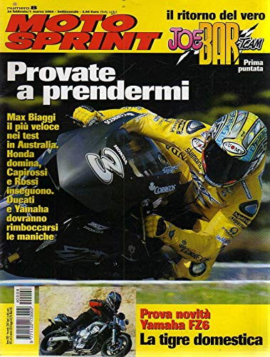 Motosprint 8 Febbraio Marzo 2004 Yamaha FZ6, Benelli TNT 1130