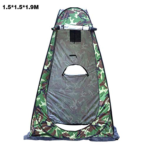 Pop Up Pod Changing Room Tent,Portable Outdoor Shower Tent, Camp Toilet, Rain Shelter For Camping & Beach,Lightweight & Sturdy, Easy Set Up, Foldable - with Carry Bag
