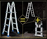 4 Schritt Little Giant Ladder MultiUse Schiebeleiter for Indoor Outdoor