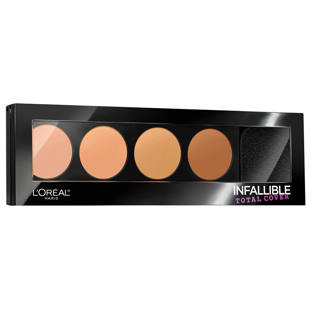 L'Oréal Paris 2021 new Infallible Total Cover 1 year warranty and K Contour Concealing