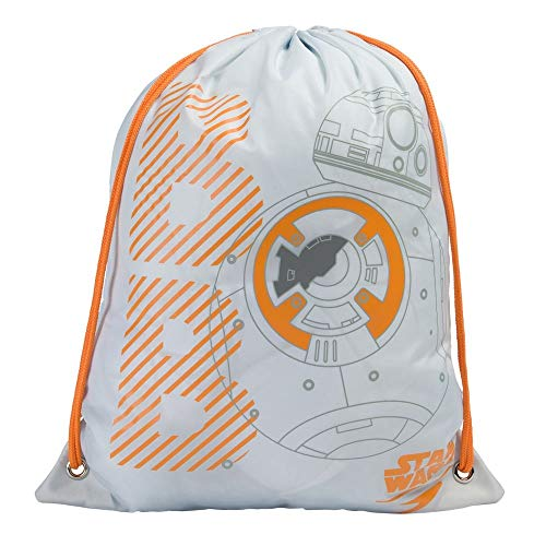 Speedo Borsa da Nuoto Star Wars, Unisex-Youth, Cool Grey/Bianco/Arancione, One Size