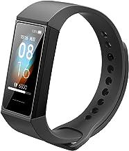Xiaomi mi band 4 Smart fitness armband hartslagmeter 135 mAh kleurenbeeldscherm Bluetooth 5.0 nieuwste (Rode bordeaux en z...