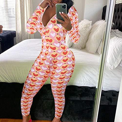 SXDQSZ Pigiama natalizioAdult Onesies Pajamas for Women Sexy...