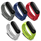 FUNKID Band for Xiaomi 3 Smartwatch Wristbands Replacement Accessaries Straps Bracelets for Mi3 Colorful(Not for Mi1/2)