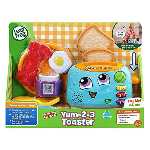 LeapFrog- Tostapane Yum-2-3, Multicolore, Variabile, 609803