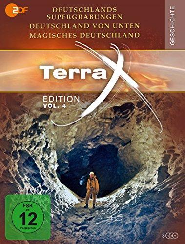 Terra X - Deutschlands Supergrabungen / Deutschland von unten / Magisches Deutschland (3 DVDs)