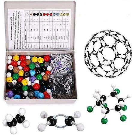 TOP BALANCE 分子構造模型 分子モデルセット 有機化学 無機化学 教学用 学生用 実験用 (440個セット)