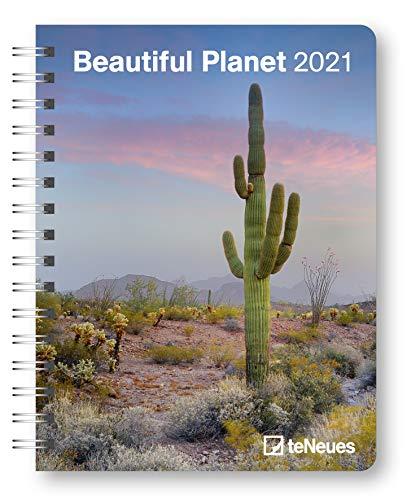 Beautiful Planet 2021 - Buchkalender - Taschenkalender - Fotokalender - 16,5x21,6: Diary