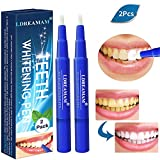 Stylo Blanchiment des Dents,Blanchiment dentaire,kit blanchiment dentaire,Stylo Dent Blanche,Nettoie et blanchit les dents 2PC