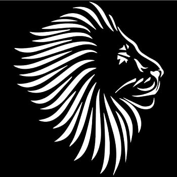 King Lion Black Car Decal Vinyl Sticker Window Truck Car Vinyl Bumper Sticker Decal 5