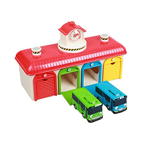 The Little Bus Tayo Friends Toy Garage Set