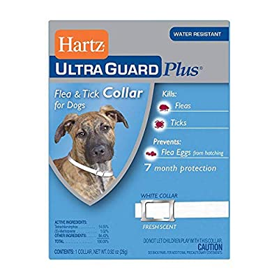 Hartz UltraGuard Plus Flea Tick Collar Dog (Pack of 2)