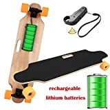 35.4' Electric Skateboard Electronic Longboard 20 KM/H Top Speed, 250W Motor,7 Layers Maple E Skateboard with Wireless Remote Control Electirc Board for Adult Kids teens,220lbs Weight Capacity