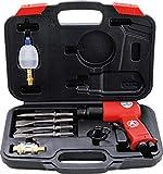 Kraftmann 3213 | Marteaux-burineurs à air comprimé avec jeu d'outils | 8pièces