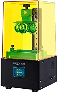 "ANYCUBIC Photon Zero 3D Printer, LCD Resin 3D Printer Assembled with 16X Anti-aliasing Function and UV Cooling System & Upgraded UV Module, Build Size 3.81""x2.12""x5.9"", Black"